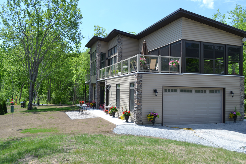 Photo Gallery Of Our Kingston Amherstview Custom Homes Maize Homes Classy Custom Home Exteriors Concept